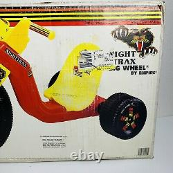 Vintage Big Wheel by Empire 16 Tricycle Night Trax 1772 New Old Stock Open Box