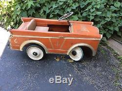 Vintage Brights Pedal Car
