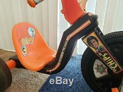 Vintage CHiPs Big Wheel Hot Cycle By Empire