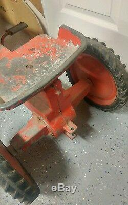 Vintage Case Agri King Ertl Pedal Tractor