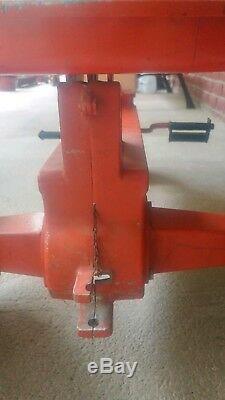 Vintage Case Agri King Ertl Pedal Tractor Ji Case