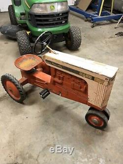 Vintage Case Pleasure King Peddle Tractor