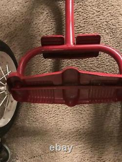 Vintage Child's Amc 1960s Big Wheel Tricycle