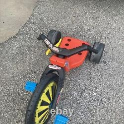 Vintage Coleco Dukes of Hazzard General Lee Power Cycle From Big Wheel RARE