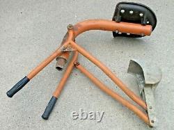 Vintage Commercial Playground Sandbox Digger Backhoe Excavator Heavy Duty Steel