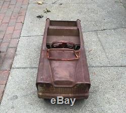 Vintage Dude Wagon Pedal Car