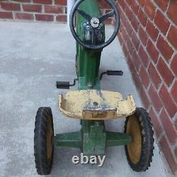 Vintage ERTL John Deere 20 Pedal Tractor D-65 #2