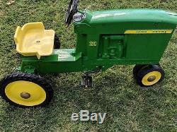 Vintage ERTL John Deere 20 Pedal Tractor Model D-65 Restored
