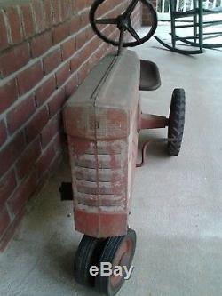 Vintage ESKA Pedal Tractor 1950s Farmall 560