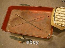 Vintage Early 1940-1950's Original Garton Delivery Cycle Ride-On Tricycle