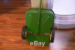 Vintage Ertl 520 John Deere Pedal Tractor With Trailer Used MADE USA WILL SHIP