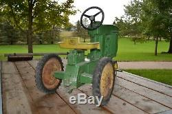 Vintage Ertl John Deere 20 Pedal Tractor from 1950's Antique JD 20 Pedal Tractor