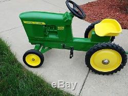 Vintage Ertl John Deere 4020 Pedal Tractor, Matching Cart, Local Pickup