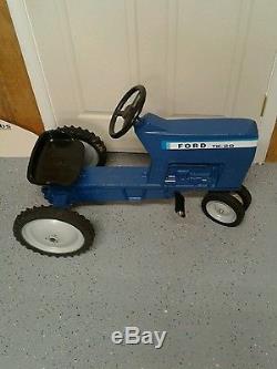Vintage Ertl Pedal Tractor Ford TW-20 Restored