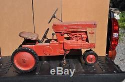 Vintage Eska 560 Farmall Pedal Tractor