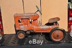 Vintage Eska Allis Chalmers CA Pedal Tractor