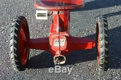 Vintage Eska Farmall Pedal Car Tractor
