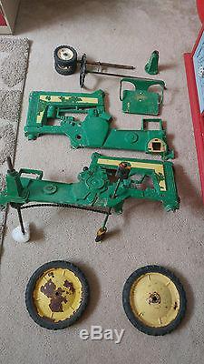 Vintage Eska John Deere 130 Pedal Tractor