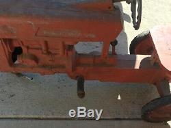 Vintage Eska tractor pedal car for parts or restoration