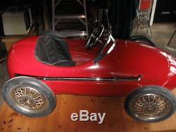 Vintage Ferrari pedal car