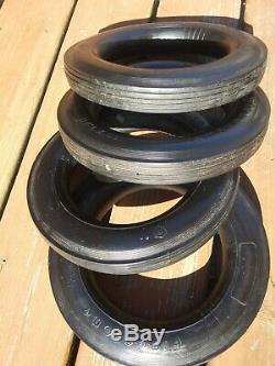 Vintage Firestone 10 X 1.75 Tires Set of 4 New Unused Wagon Pedal Car XCEL RARE