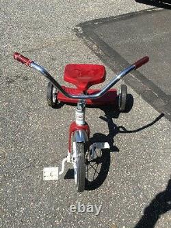 Vintage Flexible Flyer Red Tricycle