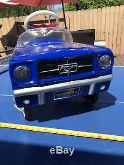 Vintage Ford Mustang Pedal Car! 1965 Rare Replica By Warehouse 35