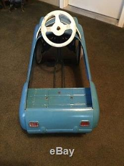 Vintage Full Size Metal USA Murray Dipside Jet Flow Drive Champion Pedal Car