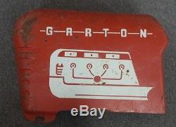 Vintage GGG Powerama Ball Bearing Garton Pedal Tractor Toy Steel FREE SHIPPING