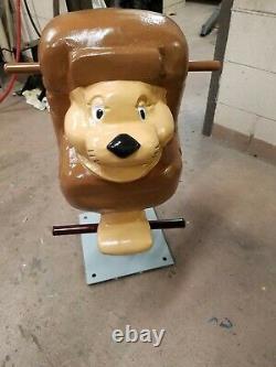 Vintage Gametime saddle Mates Playground Spring Rider Lion