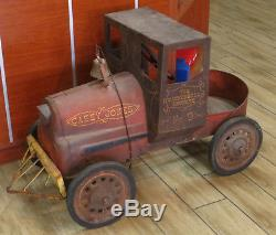 Vintage Garton CASEY JONES Cannonball Express No. 9 Pedal Car Unrestored