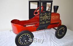 Vintage Garton Casey Jones Cannonball Express No. 9 Pedal Car ALL-ORIGINAL