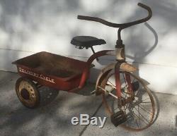 Vintage Garton Delivery Cycle Tricycle Wagon