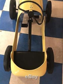 Vintage Garton Hot Rod Racer Pedal Car