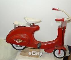 Vintage Garton Toy Company Super Sonda Pedal Scooter