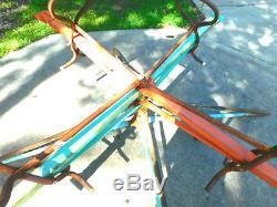 Vintage Hedstrom Whirly Bird Playground Backyard Toy 1960s ORIGINAL WORKING NR