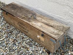 Vintage Jaques Croquet Set In Box
