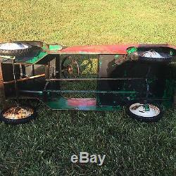 Vintage Jeep Pedal Car