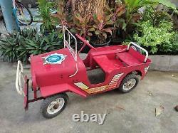 Vintage Jeep Pedal Cars