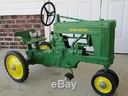 Vintage John Deere Eska Large 60 Pedal Tractor