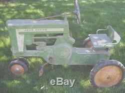 Vintage John Deere Peddle Tractor