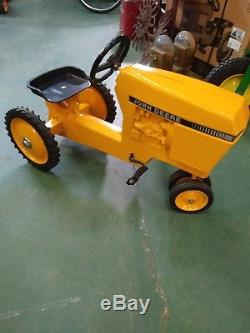 Vintage John Deere model 520 Pedal Tractor