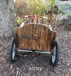 Vintage Kettler Pedal Push Pull Go Car Made in Germany Child Kids Youth Cart