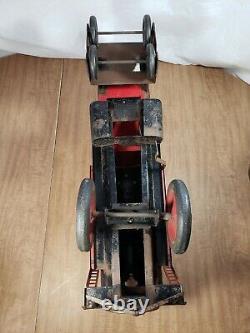 Vintage Keystone R. R. 6400 Steam Engine & Pullman 6800 Passenger Ride Train Toy