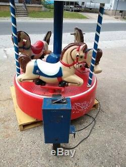 Vintage Kmart Merry Go Round Carousel