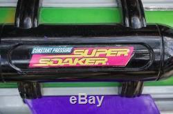 Vintage Larami SUPER SOAKER Monster X Water Guns 9980 and 9982 Large 2x Set LOT
