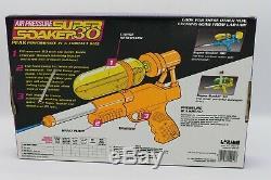 Vintage Larami Super Soaker 30 Water Pistol 1990 New In Package Sealed RARE