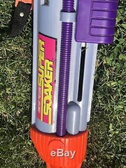 Vintage Larami Super Soaker CPS 2000 Mark 1 And mark 2! Tested And Working