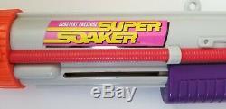 Vintage Larami Super Soaker CPS 2500 Water Gun 1997 Cannon Clean & Works Great