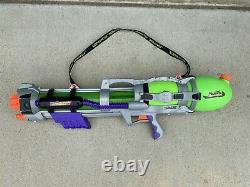 Vintage Larami Super Soaker Monster Water Gun 1999 Tested & Works 9982-0